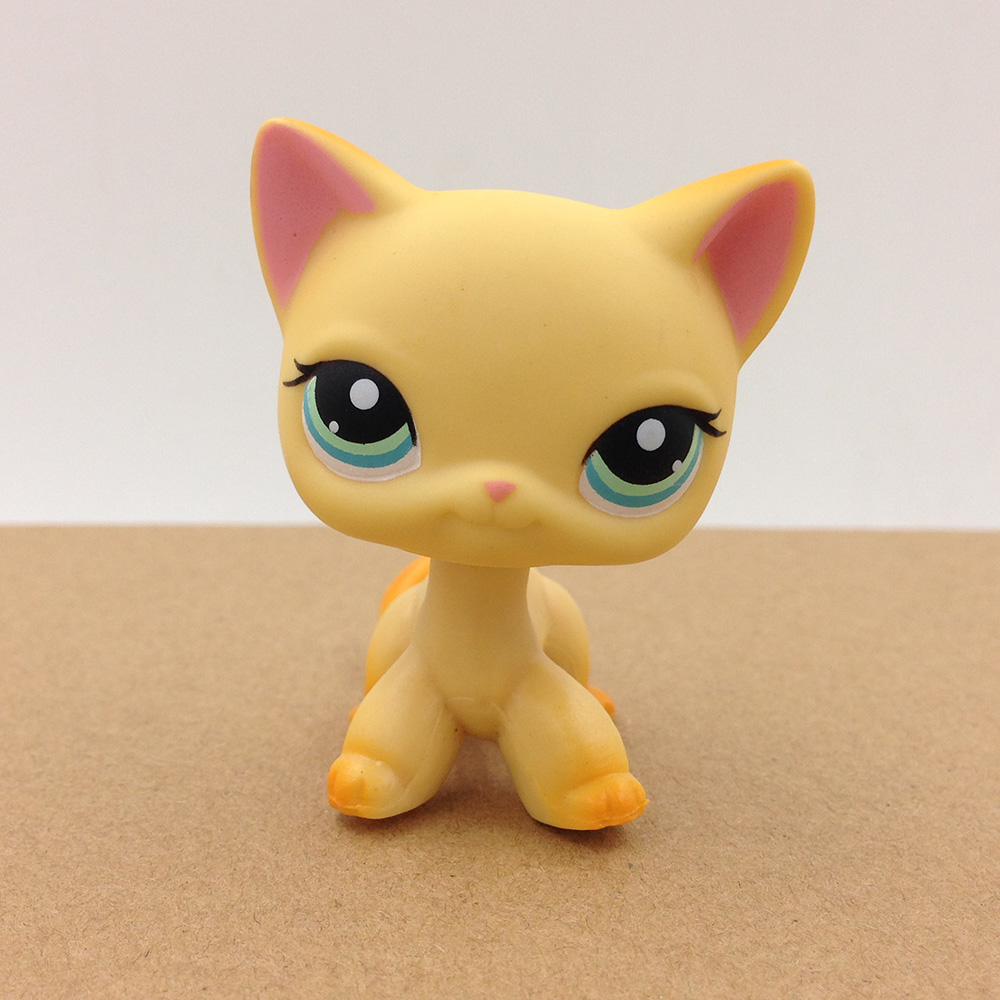 PS #339 Pet Shop Short Hair Cat Kitty Kitten Doll Collection Toy Action Figure