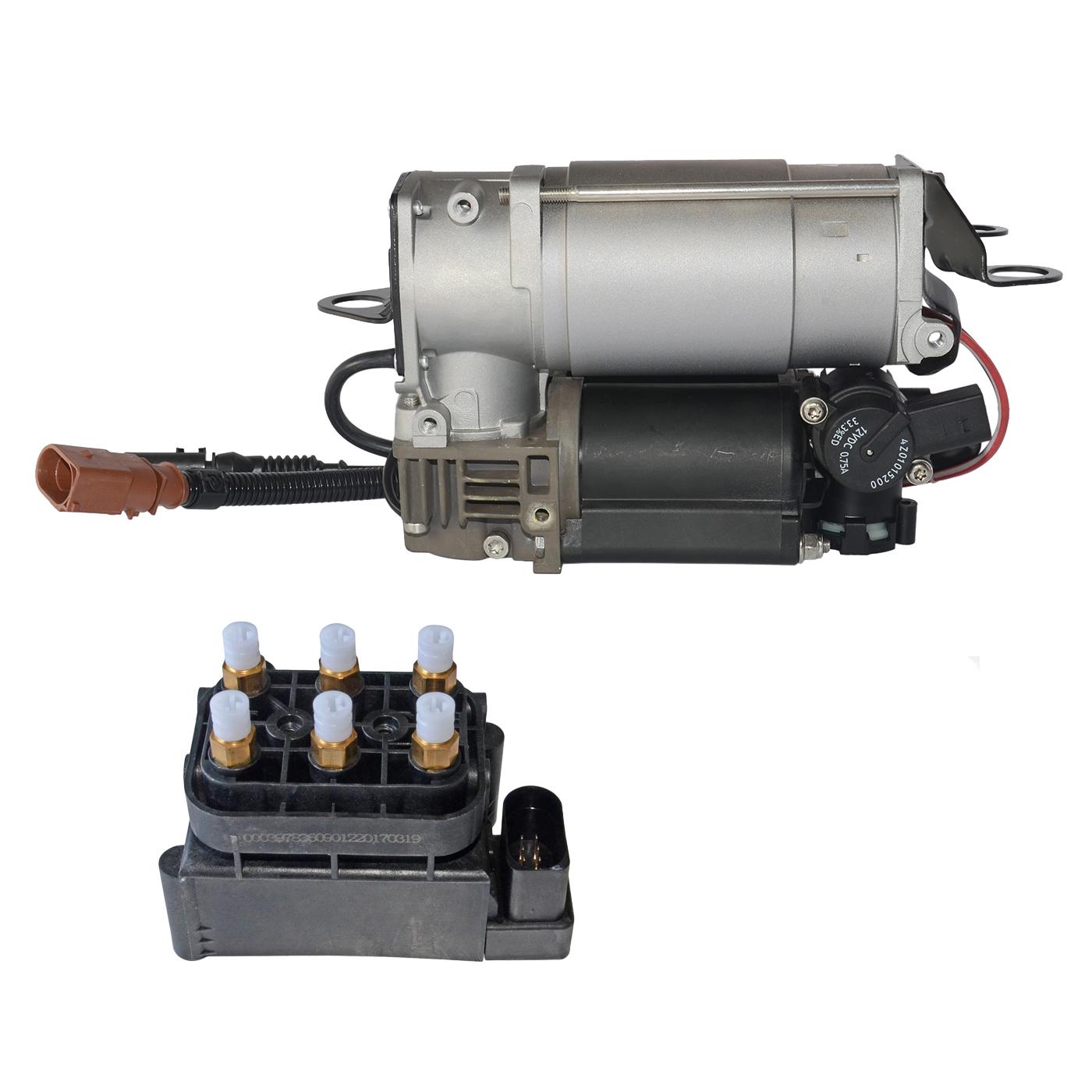 Kompressor /& Luftfahrwerk Ventilblock 4F0616006A Für Audi A6//S6 Avant Quattro C6