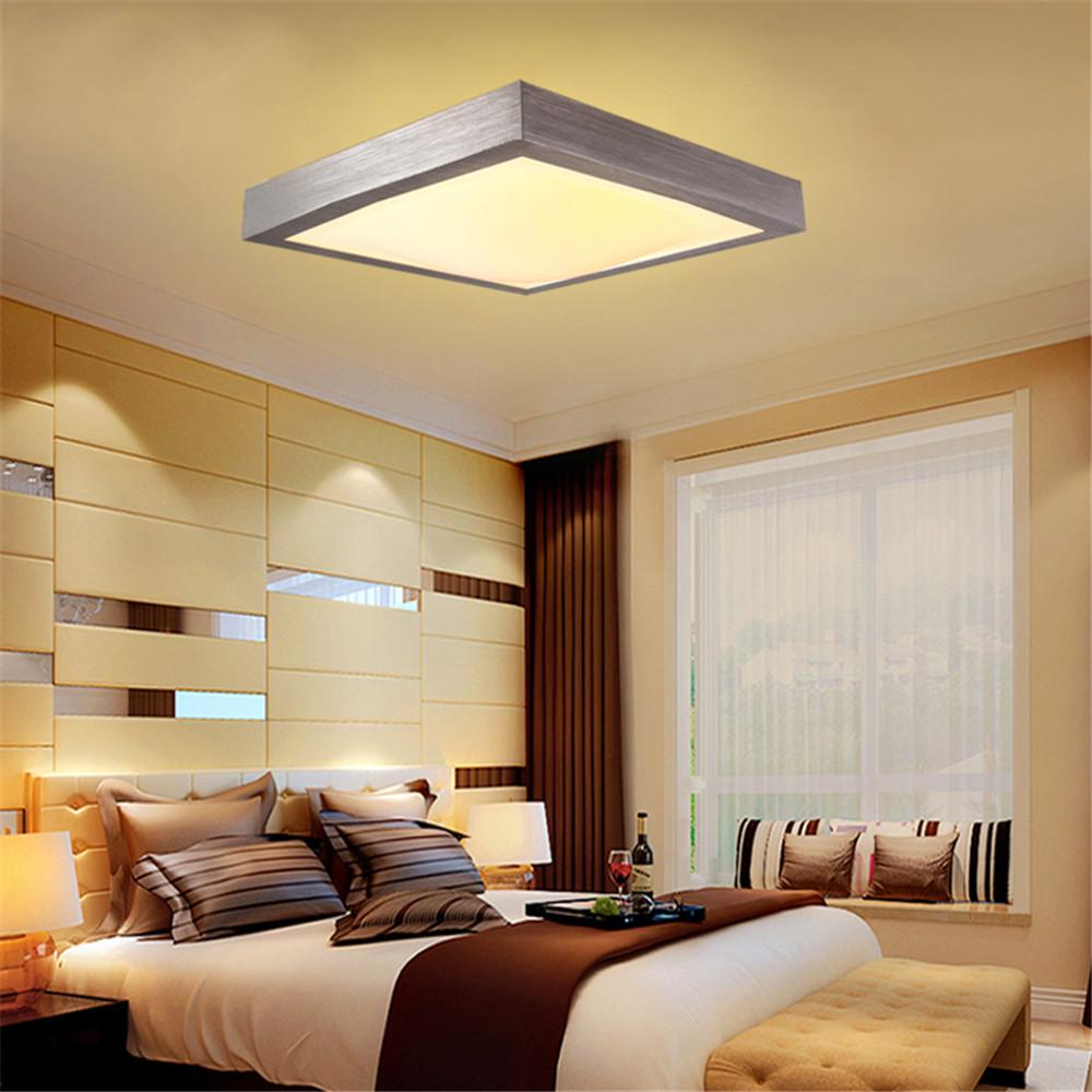 LED 15W Deckenleuchte Dimmbar Deckenlampe Wohnzimmer Leuchte Fernsteuerung Acryl