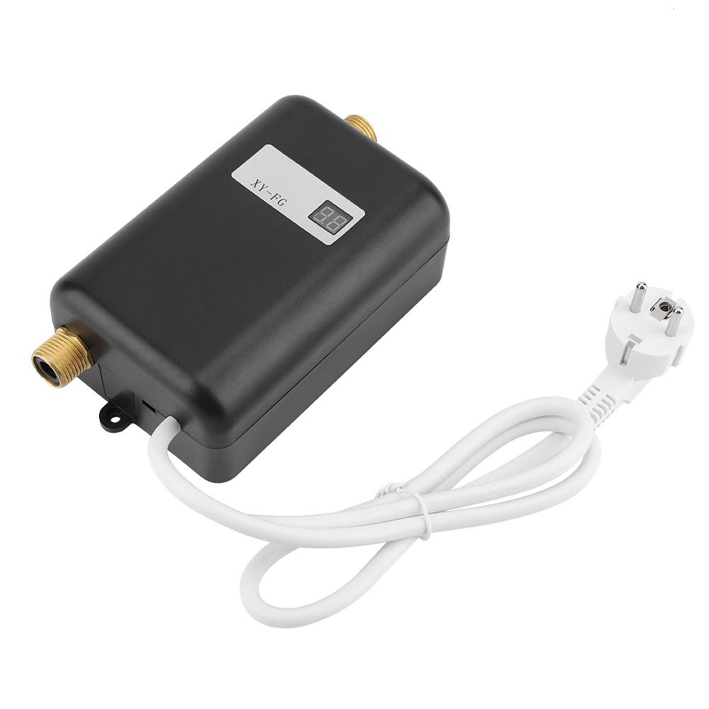 3400W Mini Electric Tankless Instant Hot Water Heater Bath Kitchen Washing US//EU