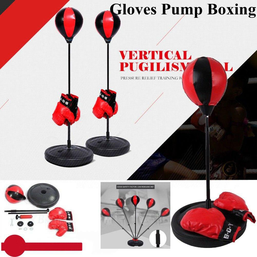 PROFI Boxen Set Standboxsack Punchingball Standbox Punching Erwachsene//Kinder DE