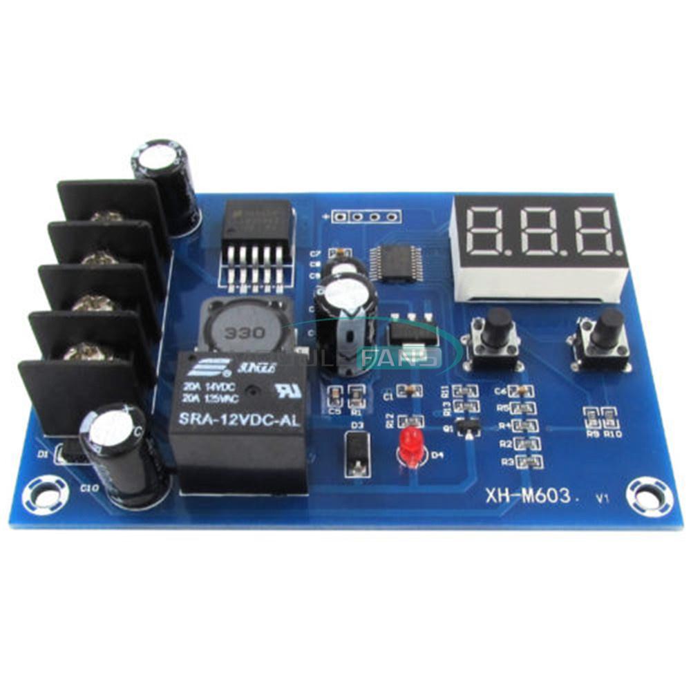 12V-24V 6-60 V Batterie de charge Control Board Chargeur Alimentation Module Commutateur