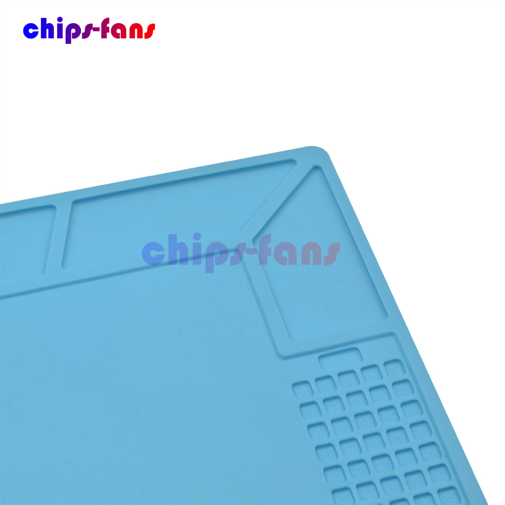 Anti Static Magnetic Heat proof Insulation Mat Silicone Pad For Solder Repair