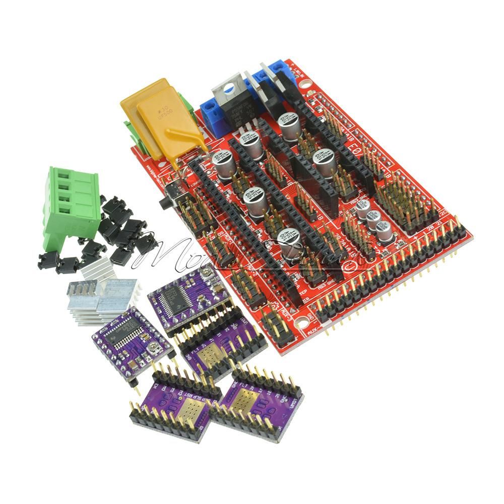 DRV8825 StepStick Motor Driver Module New 3D Printer RAMPS 1.4 Control Board