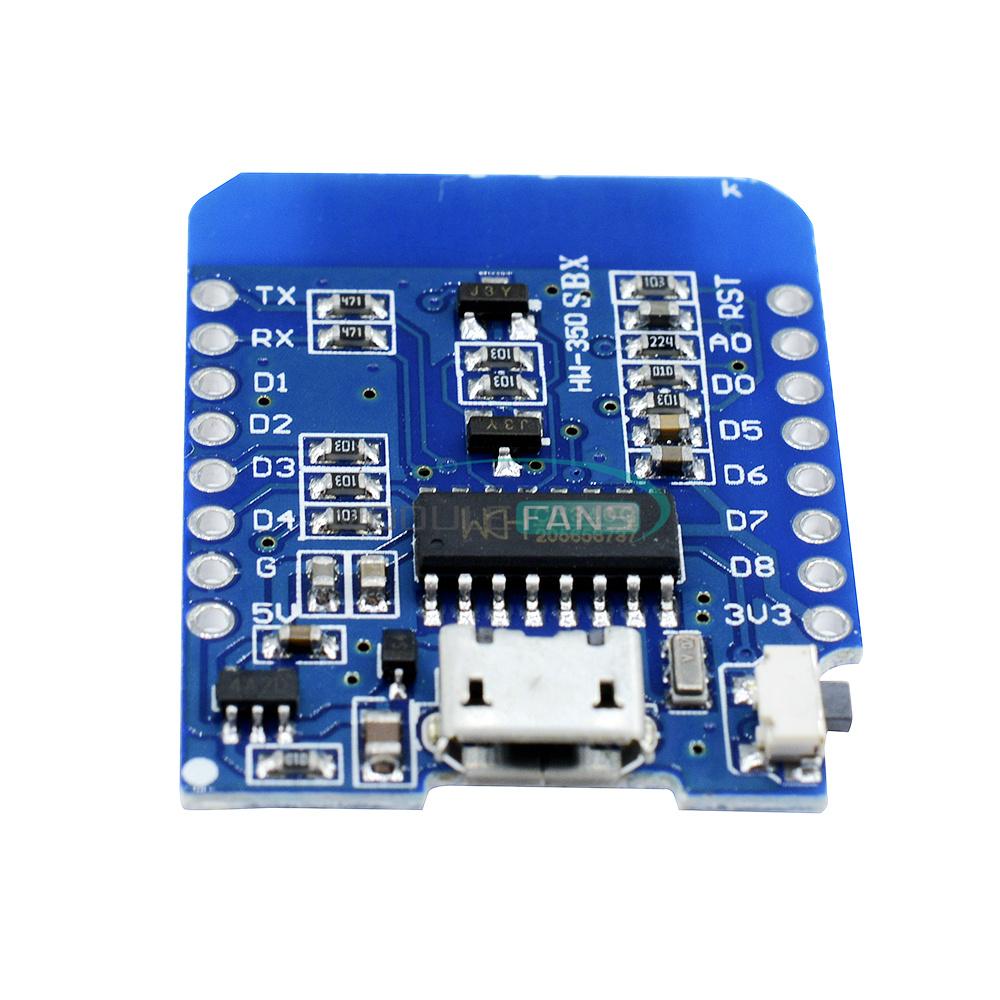 1//2PCS wemos D1 ESP8266 ESP-12 ESP12 WiFi Kit de desarrollo board de desarrollo nodemcu Lua
