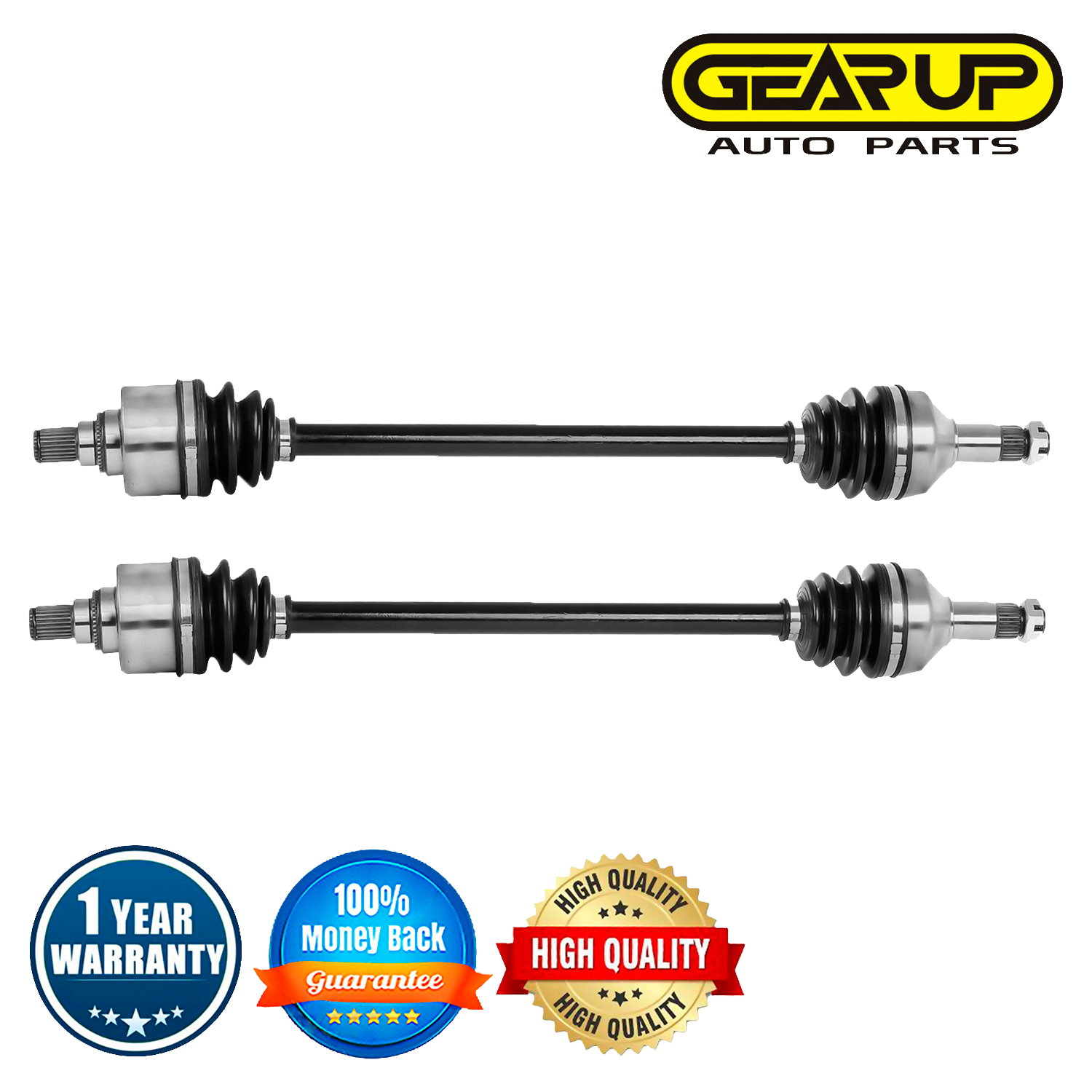 ATV Rear Left Right CV Axle Joint Assembly For Arctic Cat Wildcat Trail