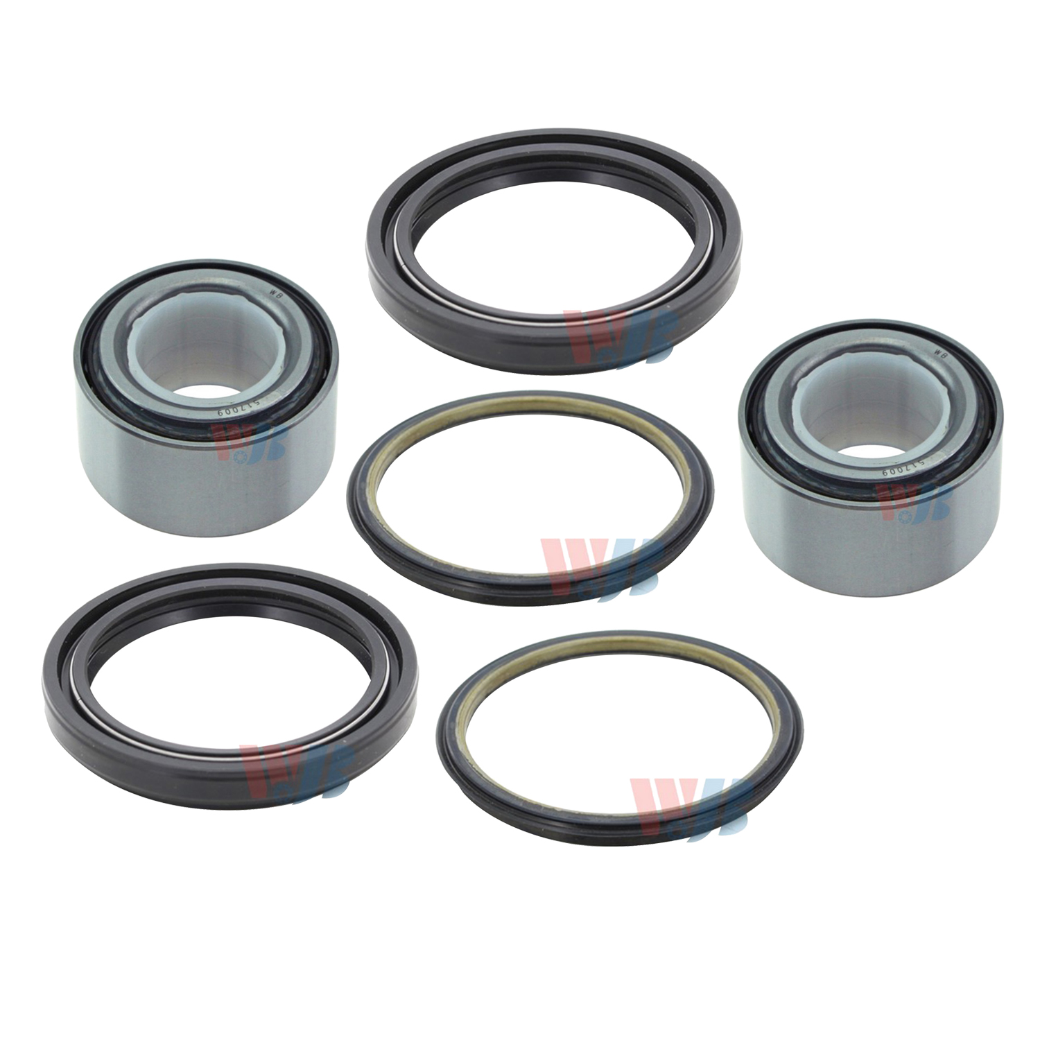 PAIR Front Left And Right Wheel Bearing /& Seal fit 1989 1990 1991 1992 1993 1994 1995 1996 1997 GEO TRACKER