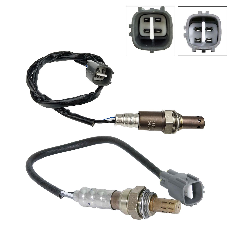 2Pcs O2 Oxygen Sensor Upstream & Downstream For 2011-2006