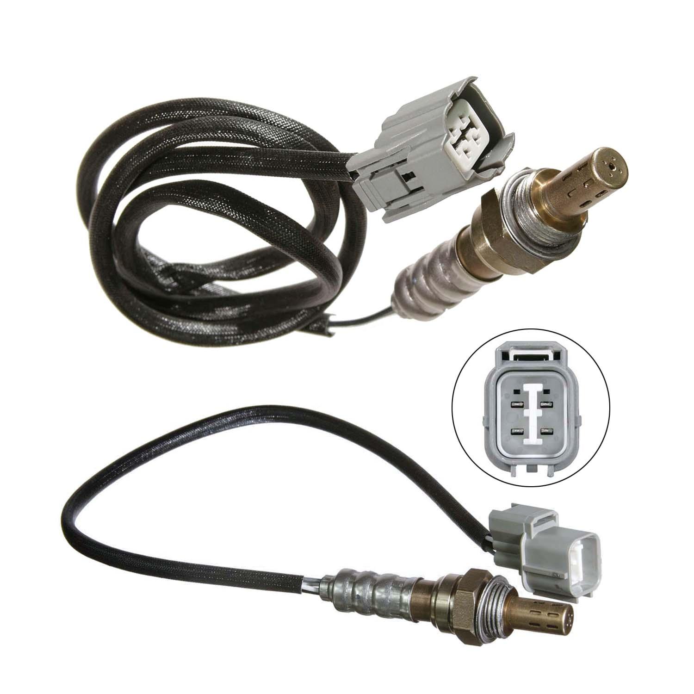 2 Up+Downstream For 98 99 Honda Accord 3.0L Exc 2pcs Oxygen O2 Sensor 1 Calif