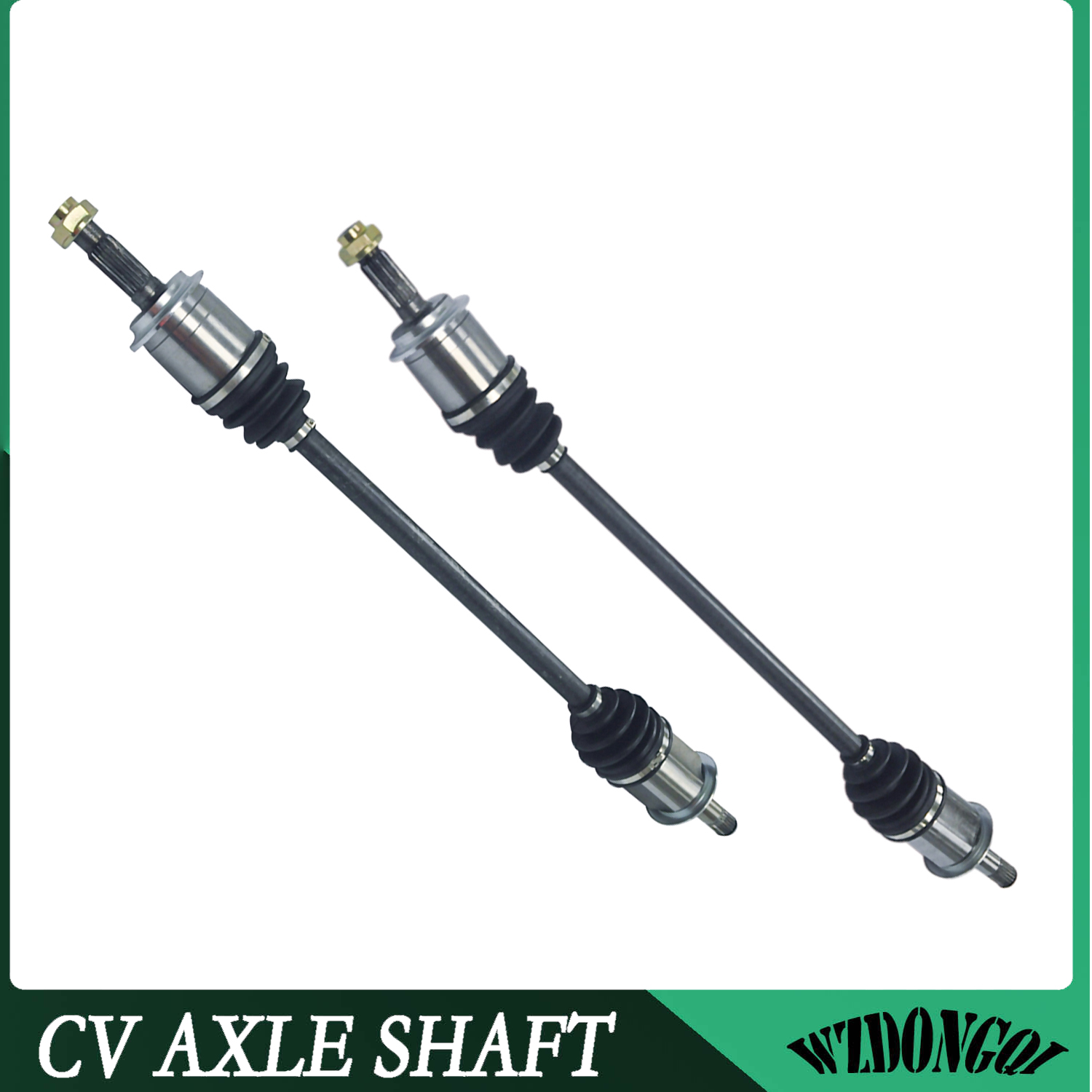 REAR LEFT /& RIGHT CV DRIVE AXLE SHAFT ASSEMBLY PAIR For HONDA ELEMENT 2003-2008