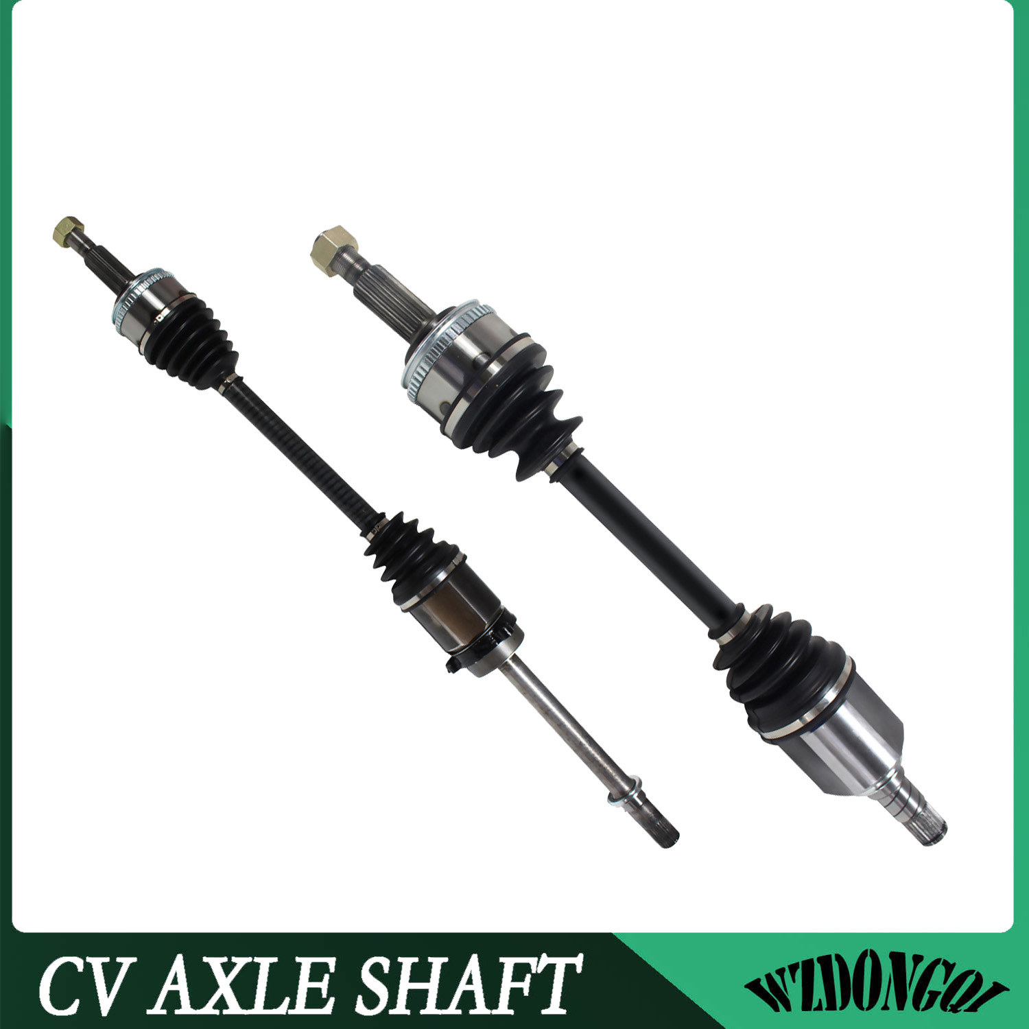 Front Pair CV Axle Joint Assembly LH RH For Mercury Villager 3.3L 6 Cyl 93-02