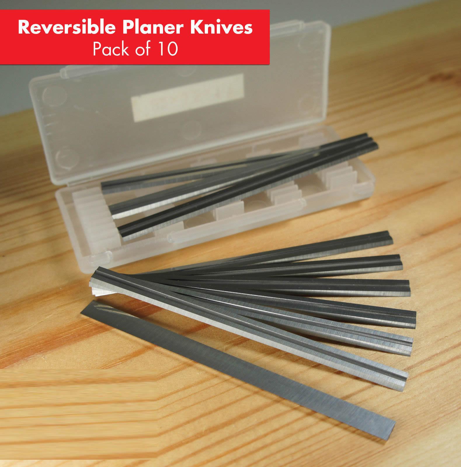 3-1//4Inch Planer Blades For DeWalt DW6654 DW6658 DCP580b DW675k DW678k -10pcs