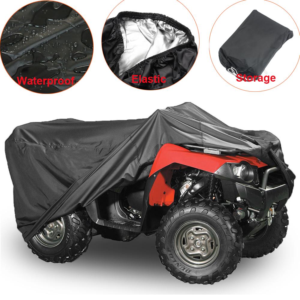 NOVSIGHT Housse de Protection pour Moto B/âche Scooter Taille XL en Tissu 210D Oxfords Etanche Durable