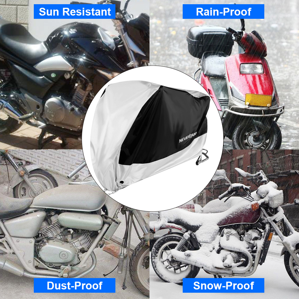 Waterproof Motorcycle Cover Outdoor For Honda Goldwing GL1800 1500 1200 GL 1100