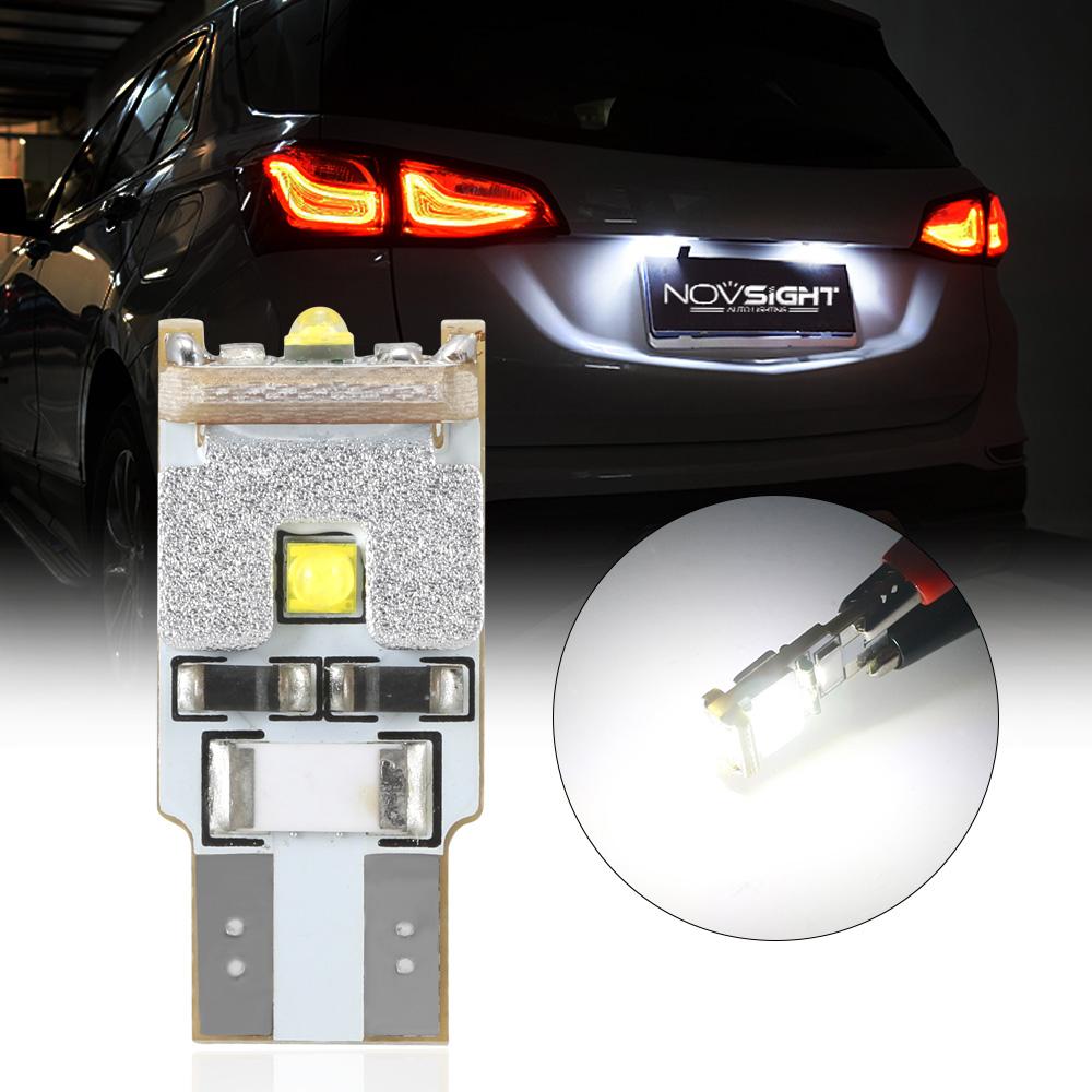 6Pcs T10 W5W 194 168 CREE LED Light Bulbs Car Auto Interior Dome Map Lamp 12V