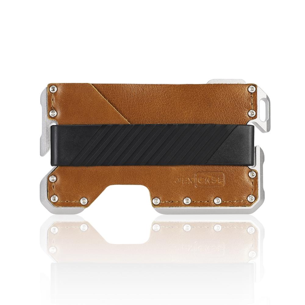 EDC Wallet Neverland Tactical Genuine Leather MultiWallet