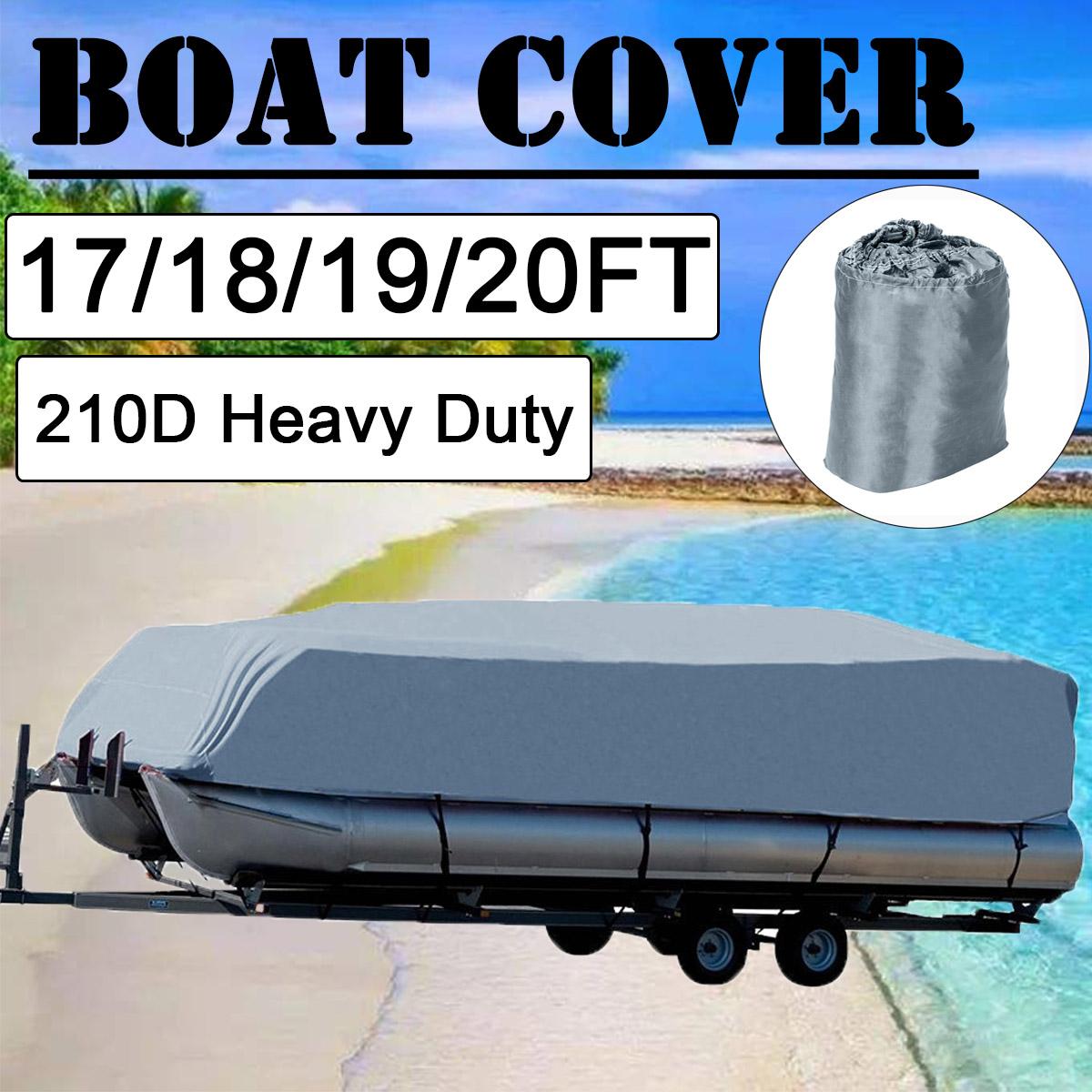 Bootspersenning 20-22FT Blau Bootsabdeckung Bootsplane Persenning Schlauchboot