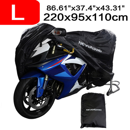 L Outdoor Black+Red Motorcycle Cover For Suzuki Katana GSXR 600 750 1000 TL1000R