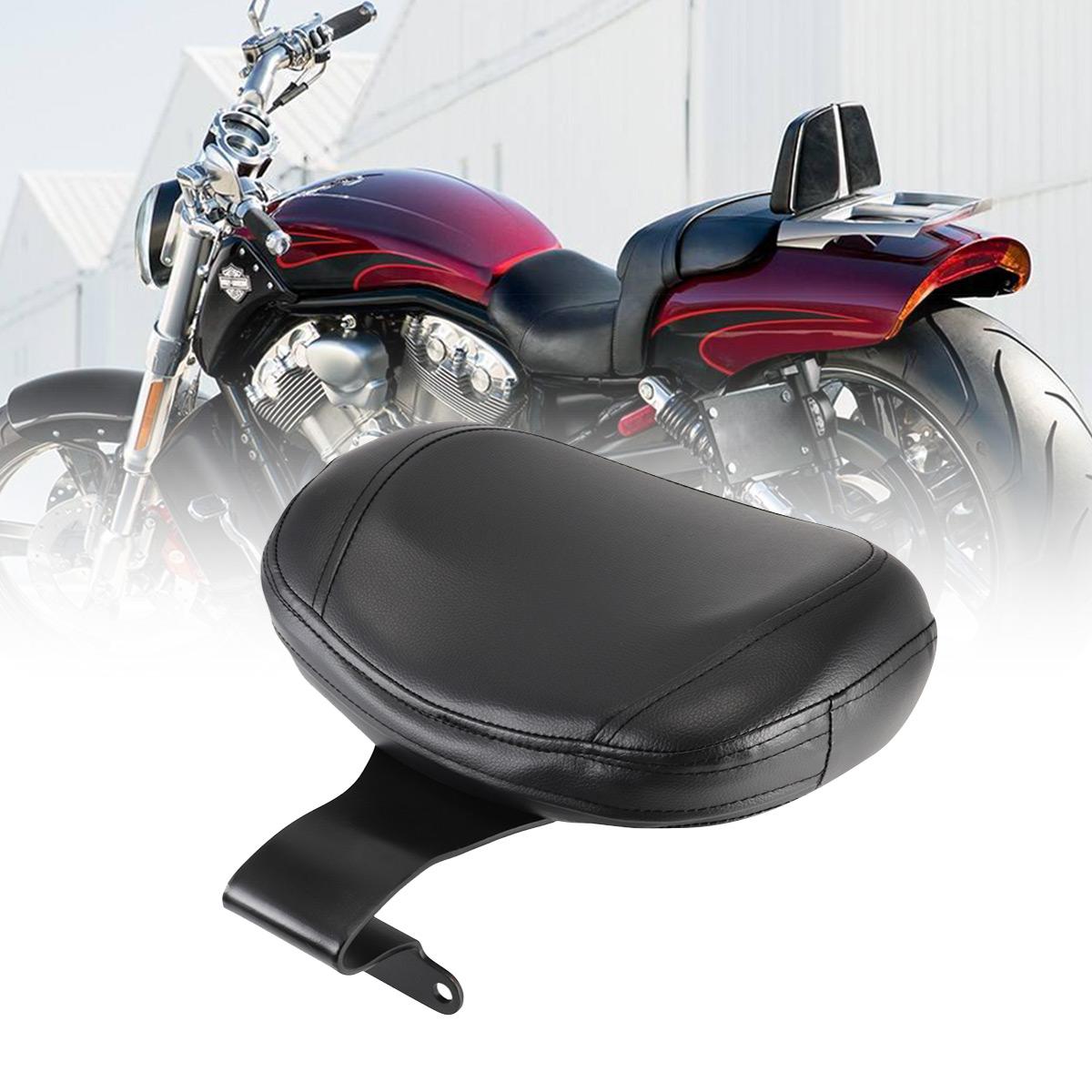 Yamaha V-Star V Star 1300 Motorcycle Rider Driver Backrest Pad Cushion Set Kit