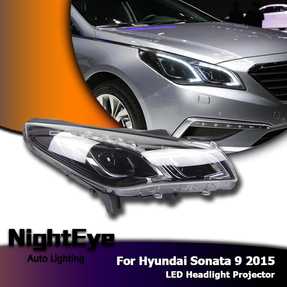 New LED Daytime Running Light For Hyundai Elantra DRL Fog Lamp Assembly 2014 15