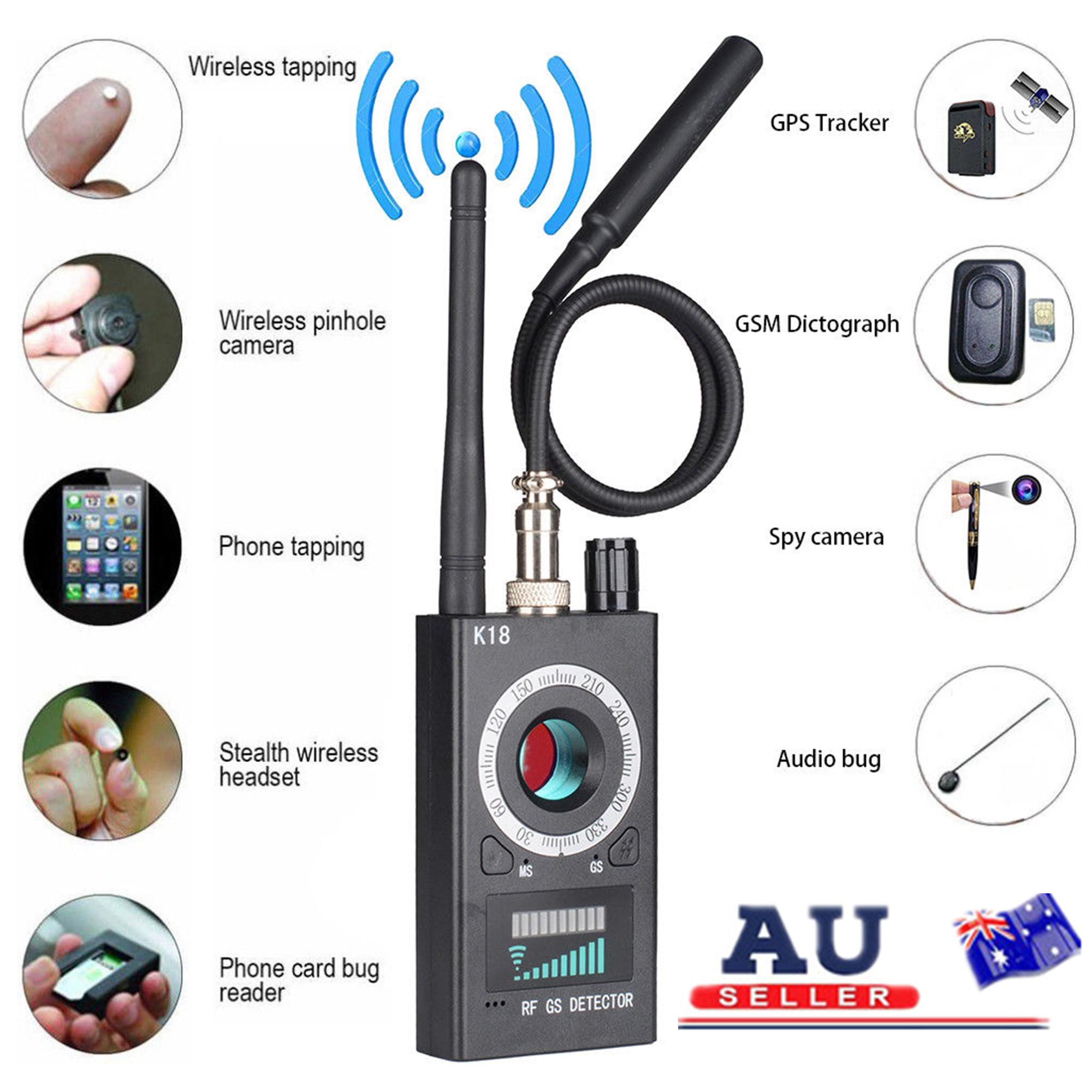Anti-Spy Signal Bug RF Detector Hidden Camera Lens GSM Device Finder  ML