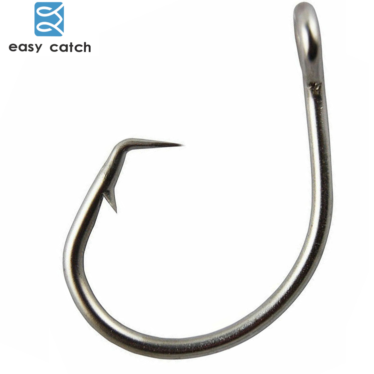 Super Strong Tuna Circle Fishing Hooks 39960D Stainless Steel Big Game 8//0-28//0