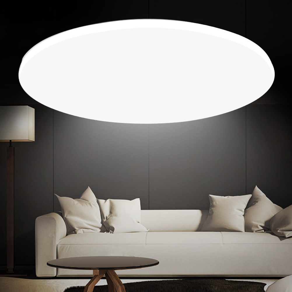 Details About Led Ceiling Light Round Surface Mount Living Room Bedroom Remote Control Lamp