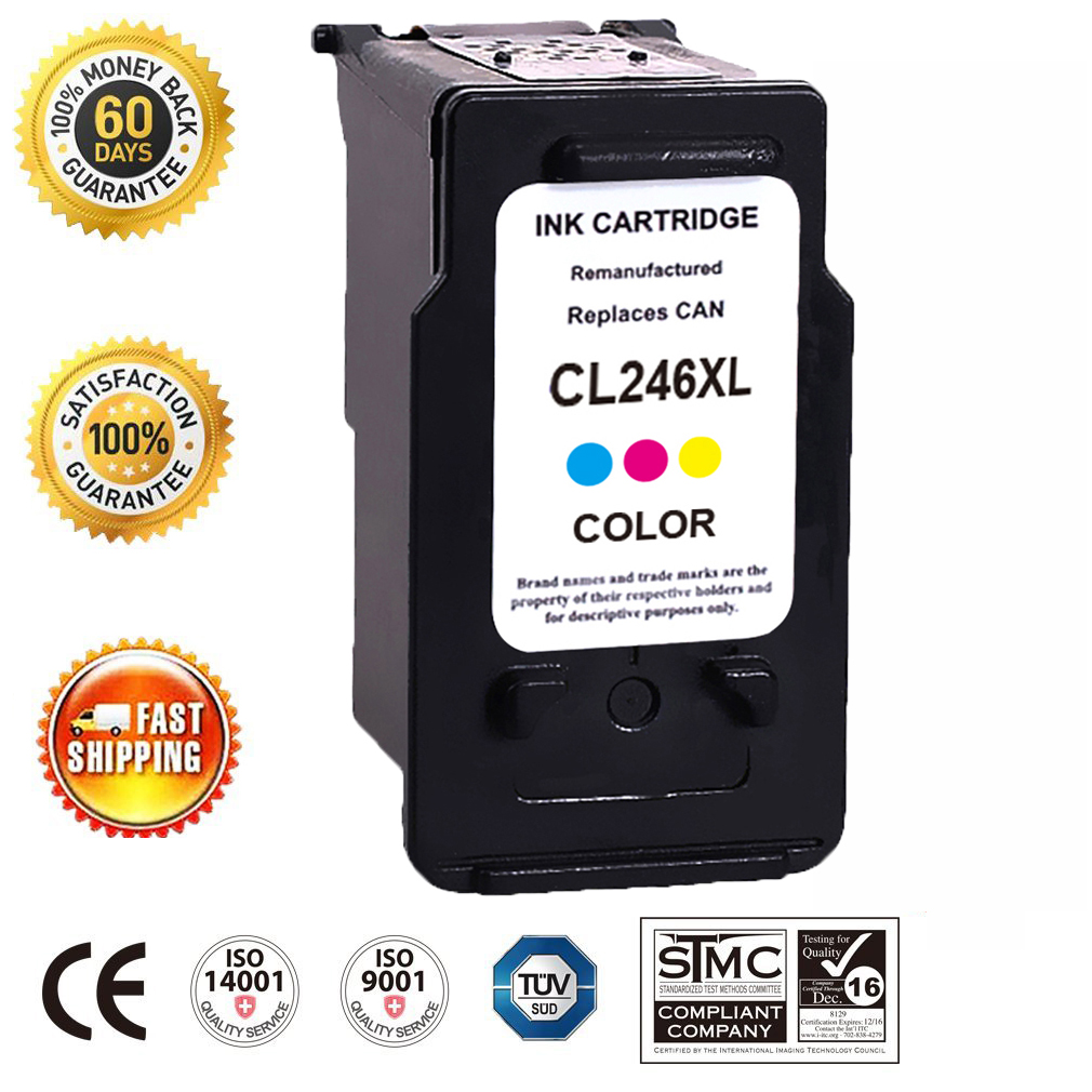 Compatible with Canon 2PK PG 245XL 1PK CL 246XL Ink Cartridge for PIXMA MG2922
