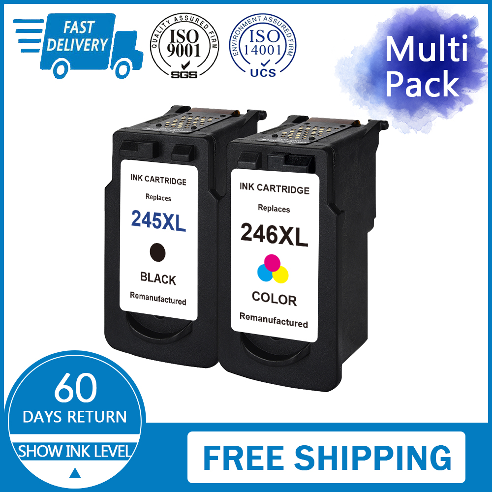 Details about Combo Pack For Canon PG-245 XL CL-246 XL Ink Cartridge PIXMA  MX492 TS3120 TS3122