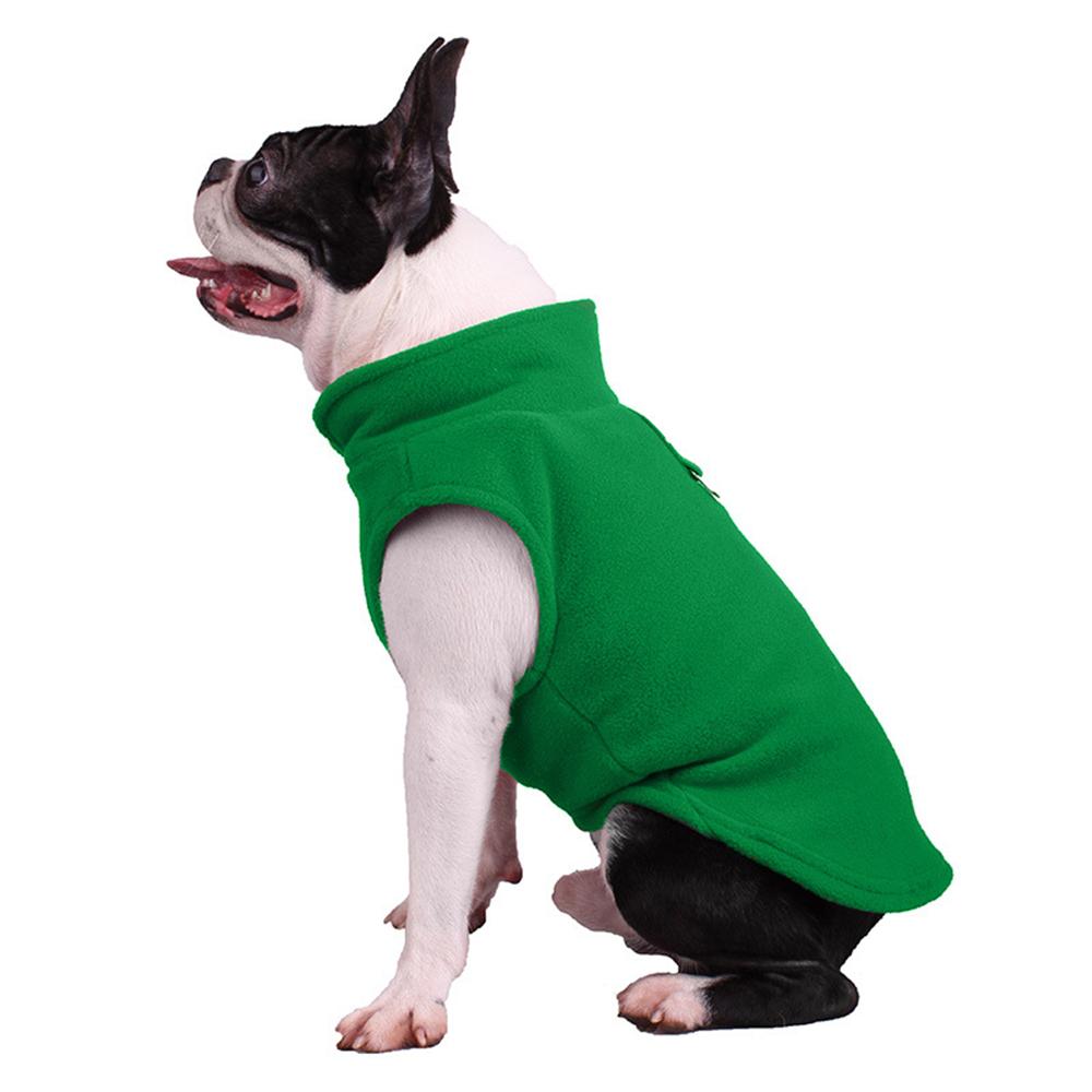 UK Small Dog Pet Coat Winter Soft Warm Jacket Fleece Clothes Cute Coat Sweater 4
