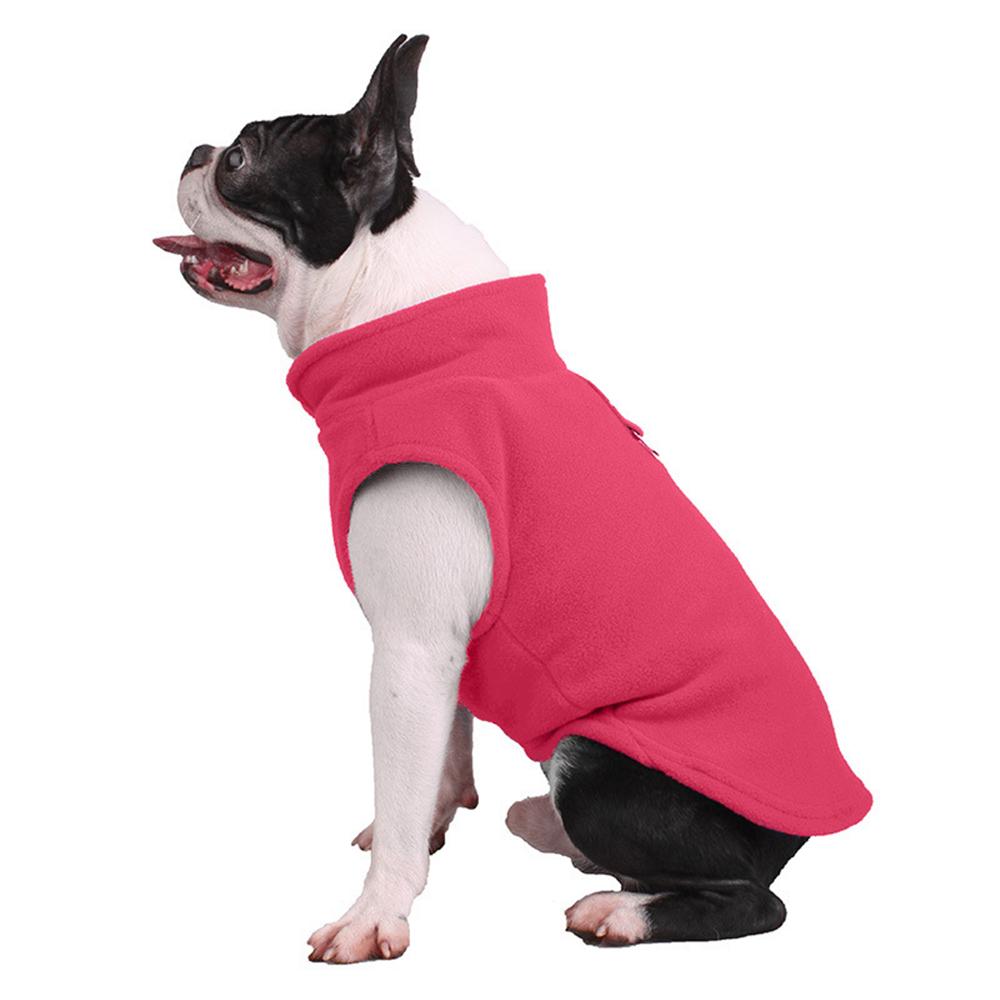 UK Small Dog Pet Coat Winter Soft Warm Jacket Fleece Clothes Cute Coat Sweater 3