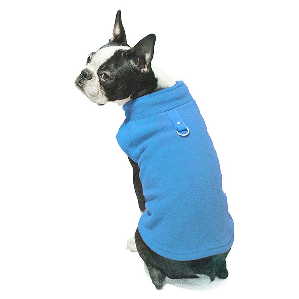 UK Small Dog Pet Coat Winter Soft Warm Jacket Fleece Clothes Cute Coat Sweater 7