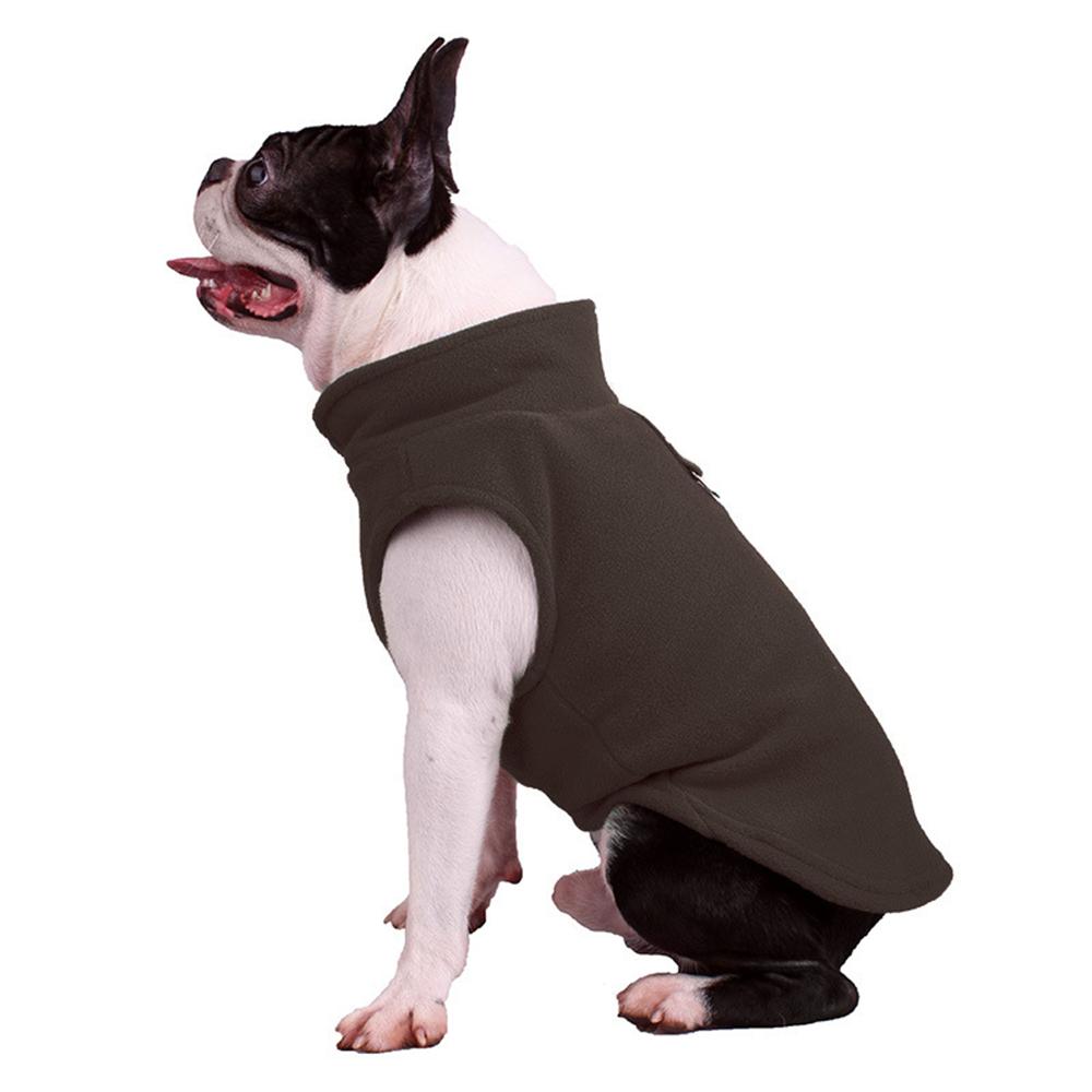 UK Small Dog Pet Coat Winter Soft Warm Jacket Fleece Clothes Cute Coat Sweater 5