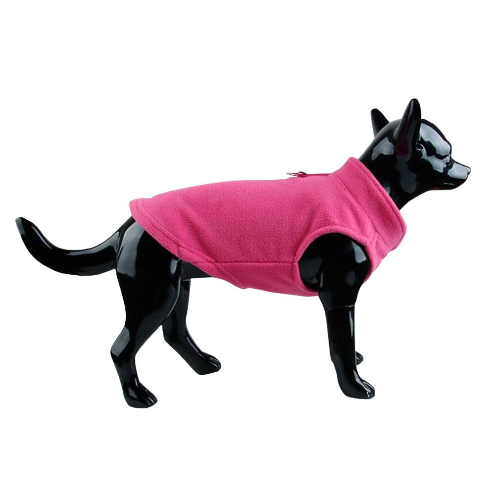 UK Small Dog Pet Coat Winter Soft Warm Jacket Fleece Clothes Cute Coat Sweater 8