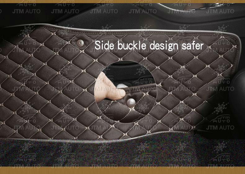 Custom Made Isuzu D-max Dmax 3D Floor Mats Leather Black Front + Rear  2012-2018