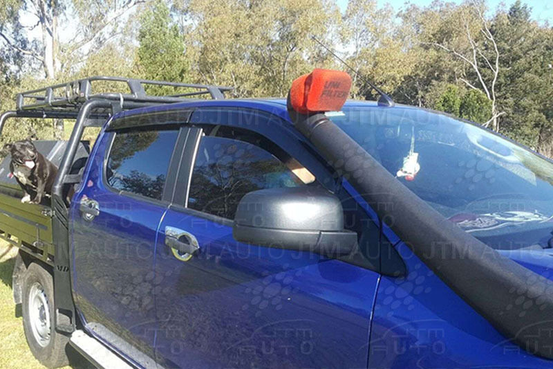 Bonnet Protector + Weathershields Window Visors suit 2012-2018 Mazda BT50 BT-50