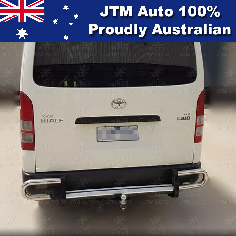 Rear Step Bumper TOWBAR Tow Bar OEM Suitable For Toyota Hiace LWB 2005-2019