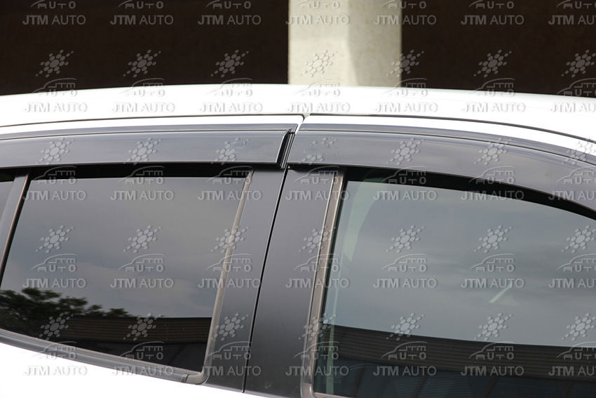 Injection Isuzu MUX MU-X Weathershields Window Visors Weather shields 2013-2019