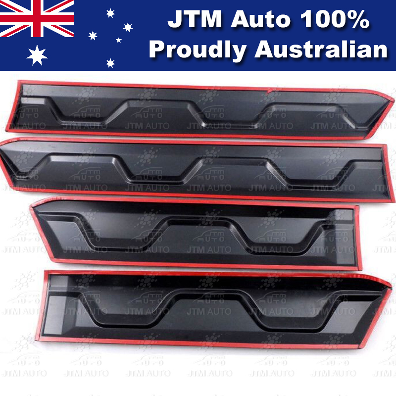 Side Door Body Molding Cladding Trim to suit Ford Ranger PX PX2 PX3 2012-2019