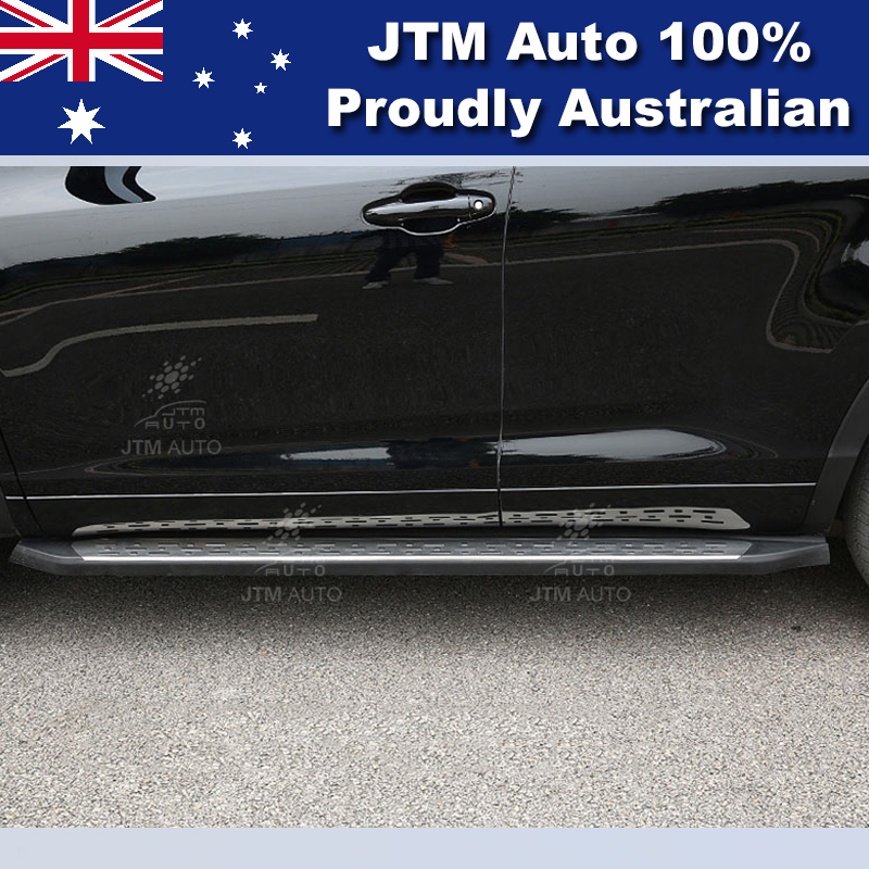 Running Boards Side Steps Aluminium to suit Toyota Kluger 2014-2019