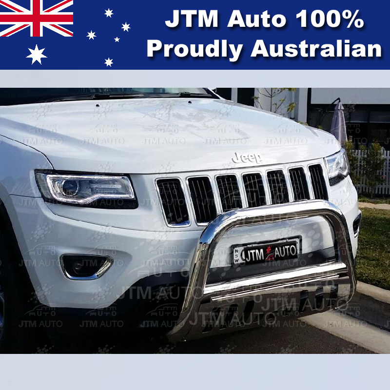 "Stainless Steel Nudge Bar 3"" Grille Guard to suit Jeep Grand Cherokee 2011-2019"