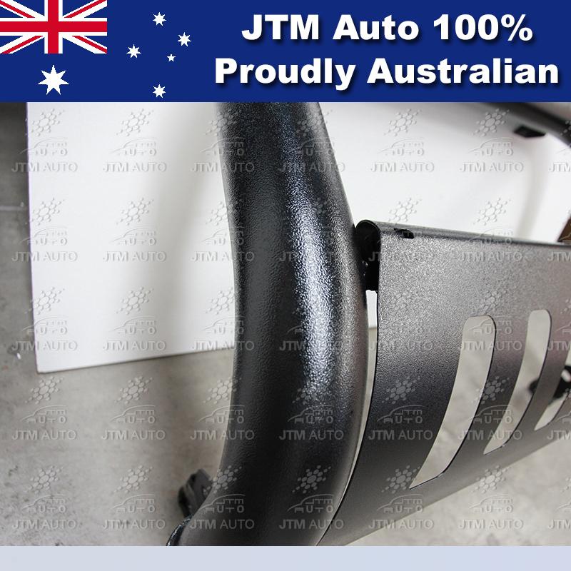 "Black Nudge Bar 3"" Steel Grille Guard to suit Mazda BT-50 BT50 2012-2019"