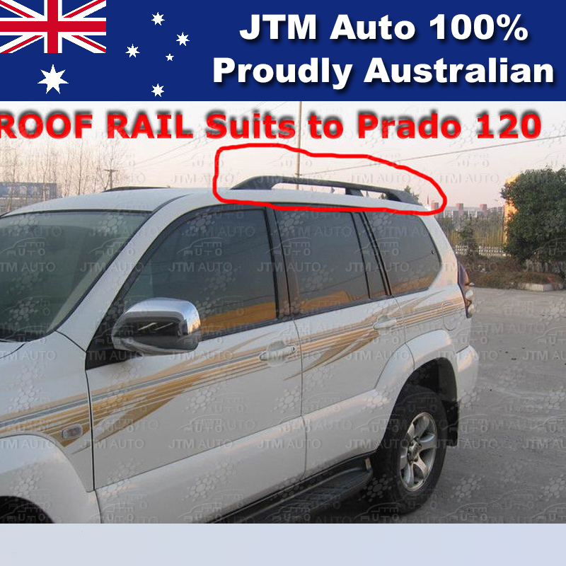 Roof Racks Roof Rails Suits For Toyota Prado 120 Series 2003-2009