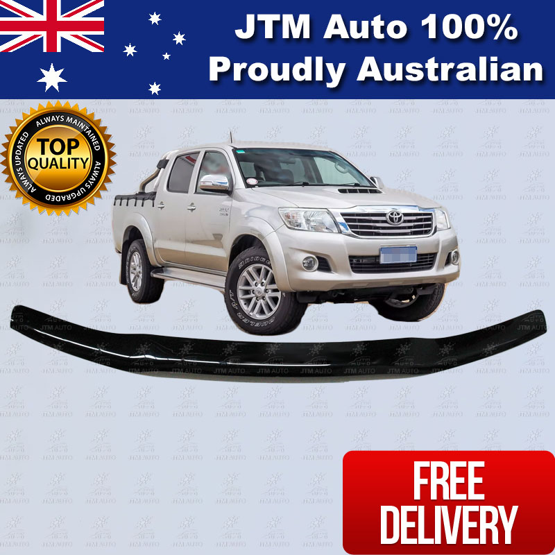 Bonnet Protector Tinted Guard to suit 2012-2015 Toyota Hilux VIGO
