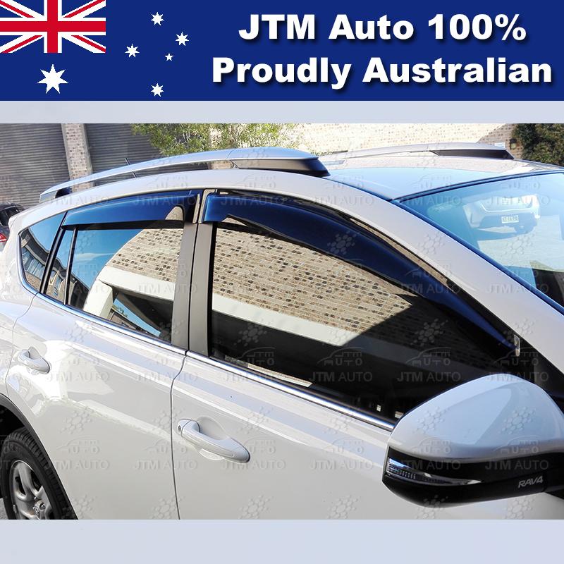 Premium Weathershield Weather Shield WINDOW VISOR to suit Toyota Rav4 2012-2018
