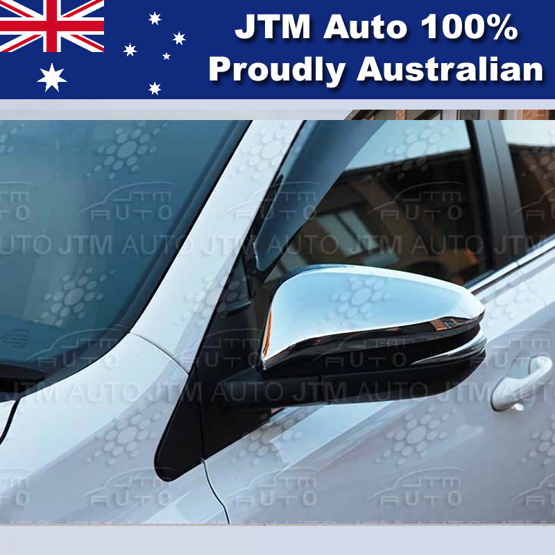 Chrome Door Mirror Garnish Cover suitable for Toyota Hilux 2015-2018
