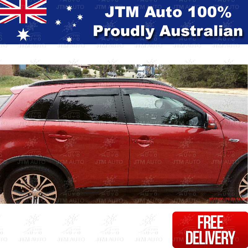 Premium Weathershields Weather Shields Window Visor For Mitsubishi ASX 2010-2019