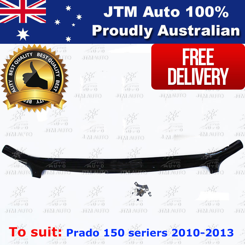 Bonnet Protector Guard to suit TOYOTA Prado 150 series 2009-2013