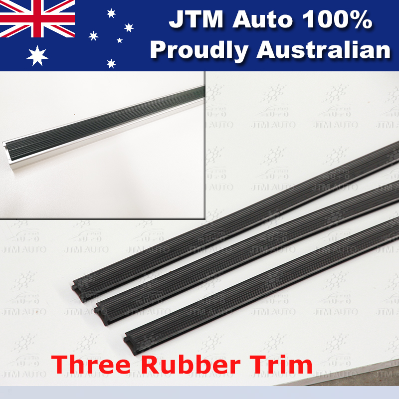 3 X 1650mm HEAVY DUTY ROOF RACKS to suit Toyota Hiace LWB HIACE 2005-2019