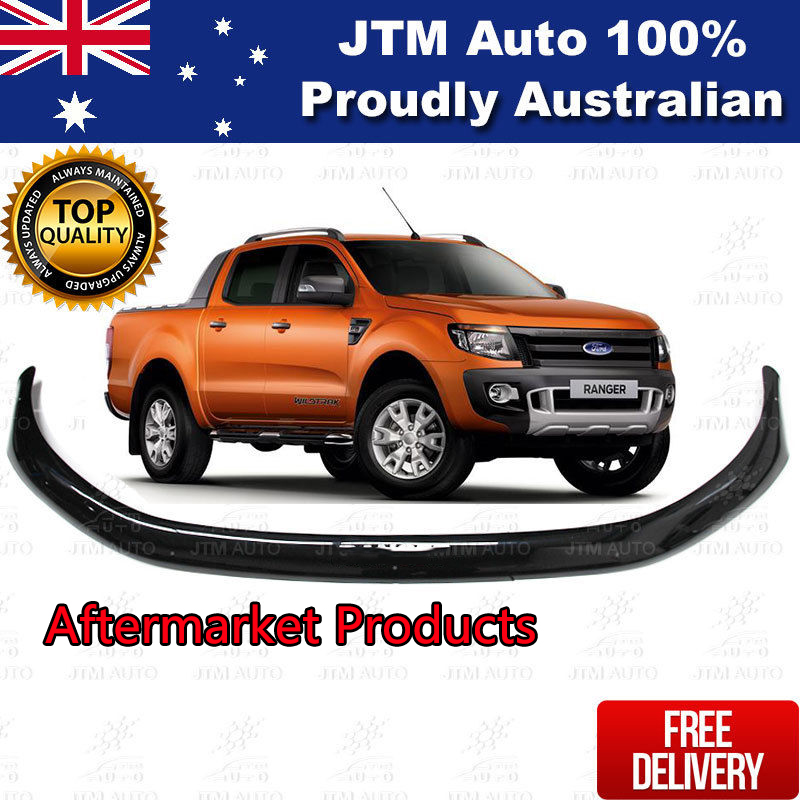 Bonnet Protector for Ford Ranger PX 2012 2013 2014 2015 Tinted Guard